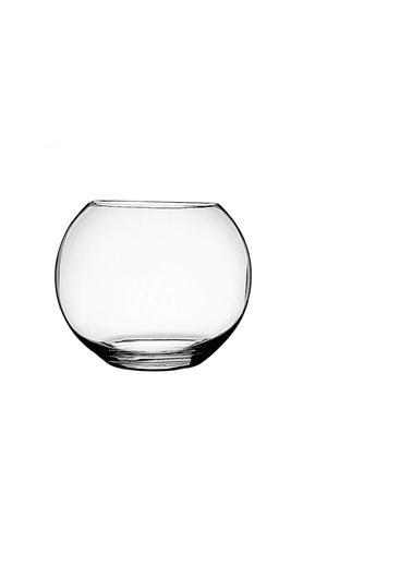 Paşabahçe Paşabahçe özel kesim cam vazo - cam fanus akvaryum 29273 Renkli
